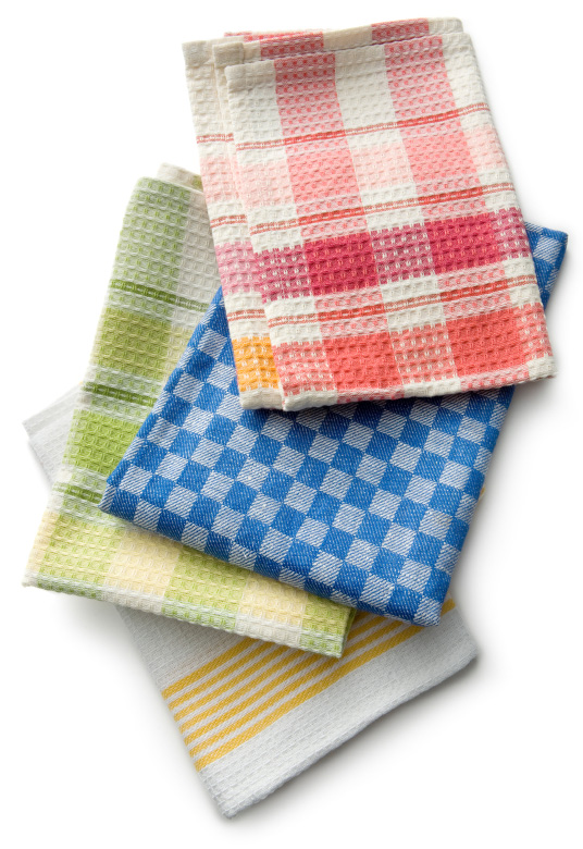 isolated-kitchen-towels